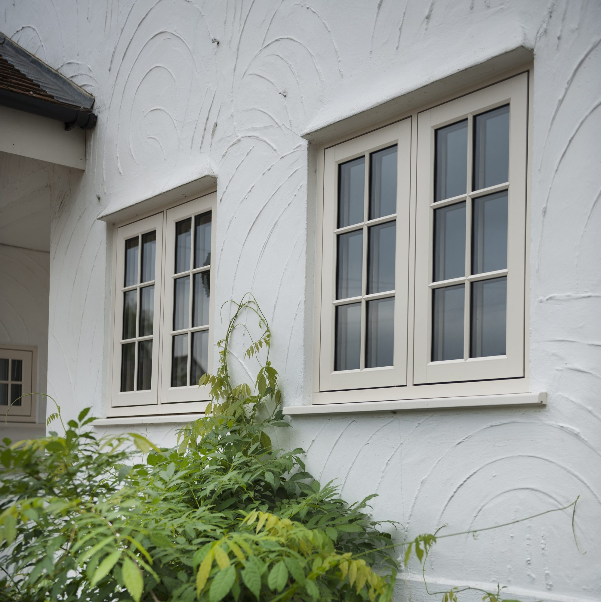 Double glazing in a range of frames and designs