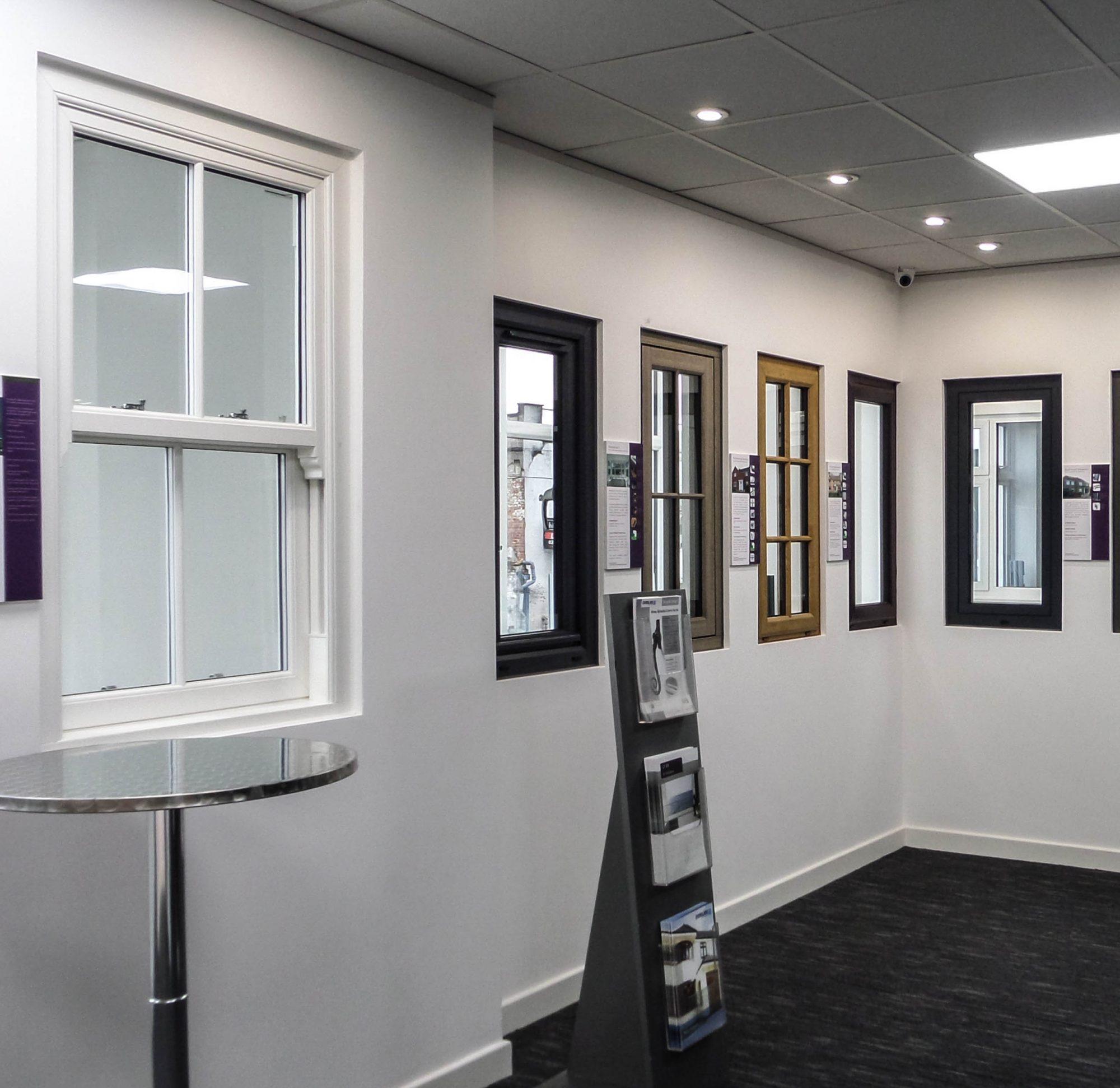 Double glazing showroom in West London