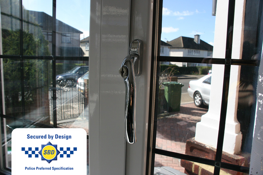 Everglade Aluminium Windows are Secured by Design