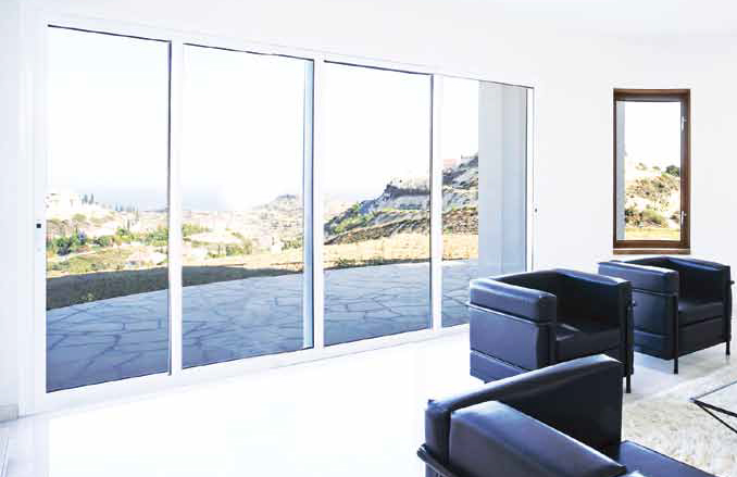 Patio residential doors