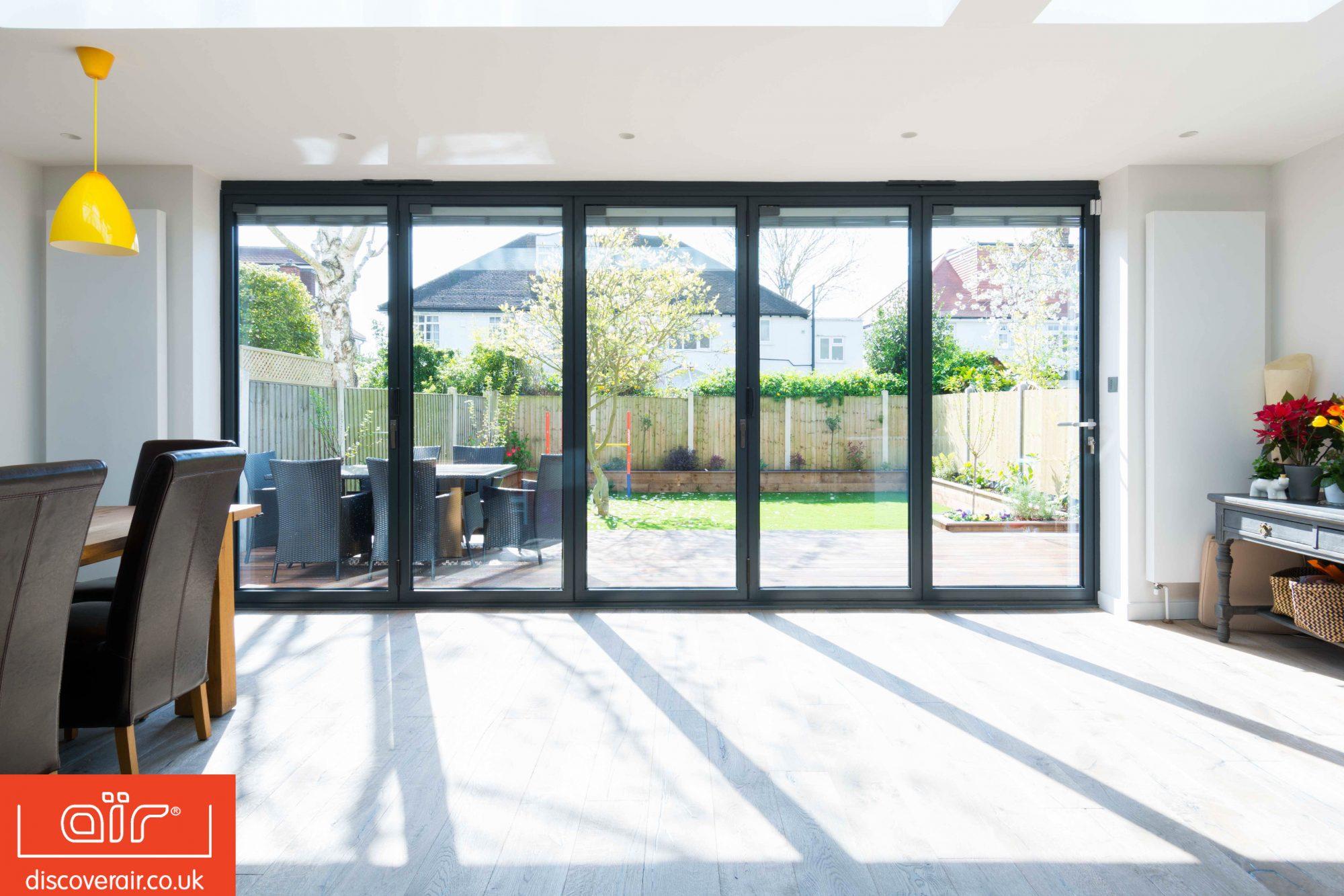 aïr bi-fold doors from Everglade, Perivale