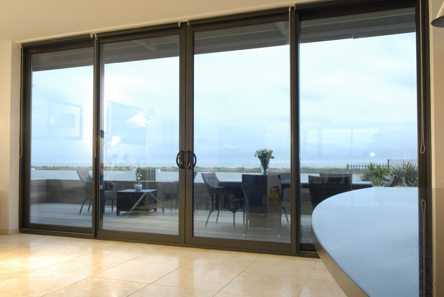Aluminium Sliding Door Gallery. Colouroptions