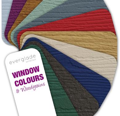 double glazing colour options