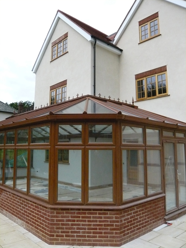 Grand conservatory Barnet Everglade Windows
