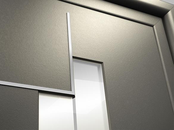 air aluminium entrance doors glazing