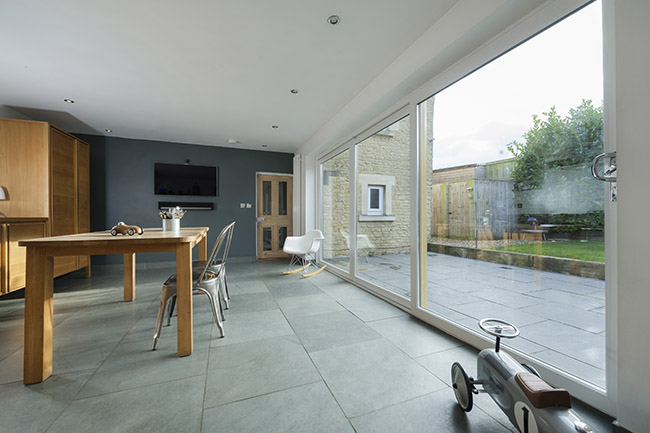 Let the light into your home with a One Collection uPVC patio door from Everglade