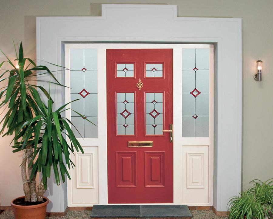 Red Palladio Composite Door Watford