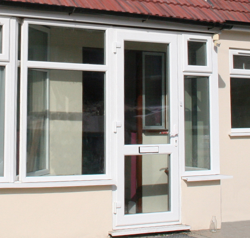 uPVC entrance doors Everglade Windows