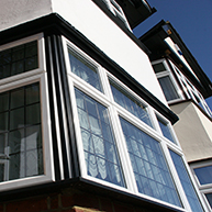 Double glazing in aluminium windows