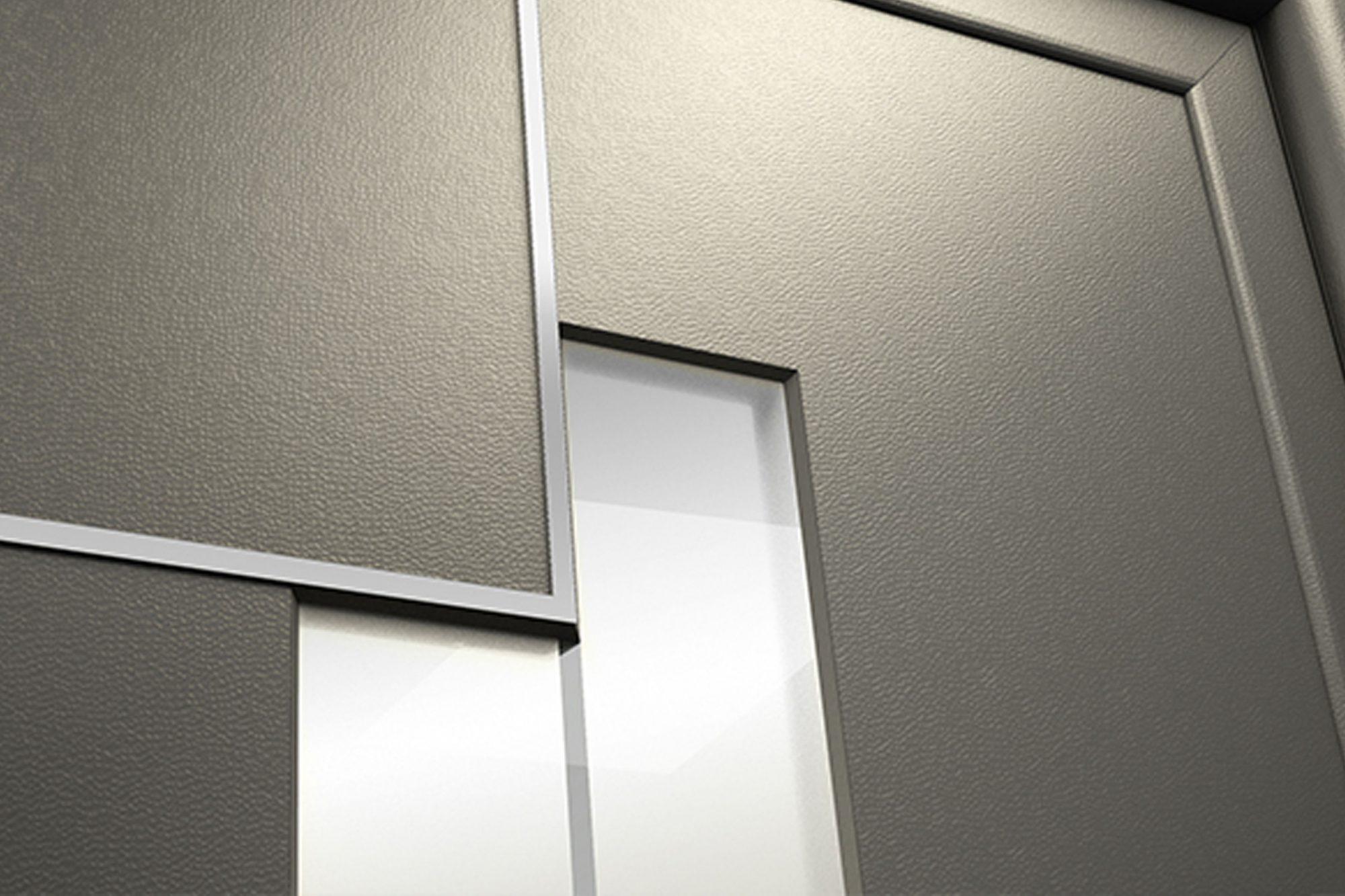 MOD-Series aluminium entrance doors Wembley