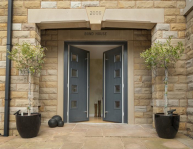 Solidor entrance doors Everglade Windows Fulham