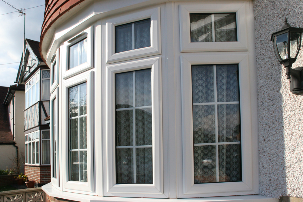 uPVC bay and bow windows