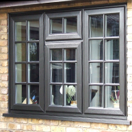 Georgian PVCu WIndows